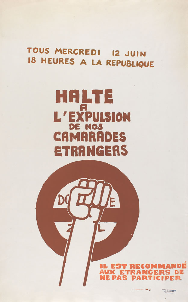 Image 2 from the exhibition Protest Posters from the Atelier Populaire de l'École des Beaux-Arts