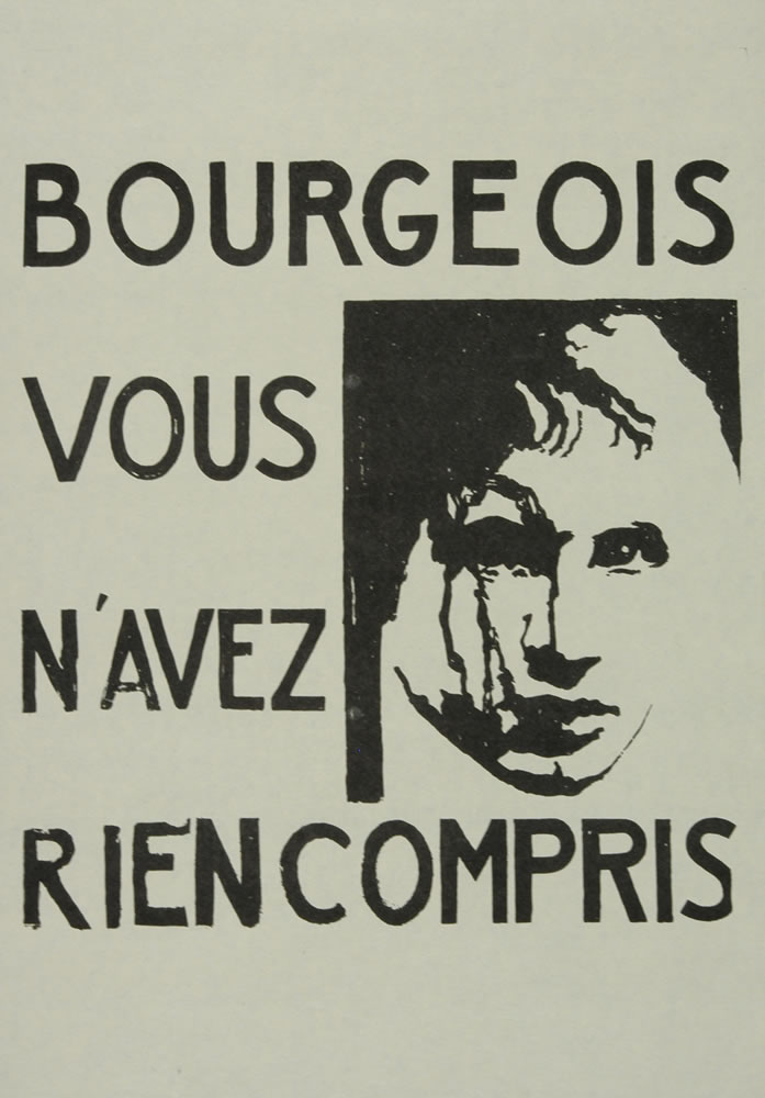 Image 5 from the exhibition Protest Posters from the Atelier Populaire de l'École des Beaux-Arts