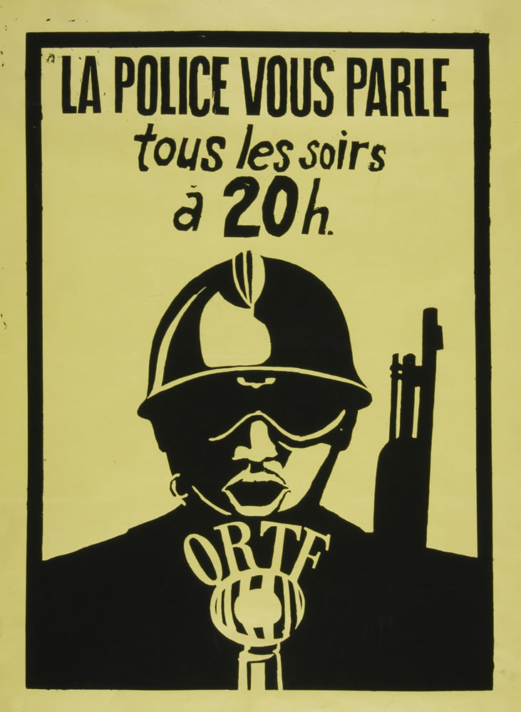 Image 6 from the exhibition Protest Posters from the Atelier Populaire de l'École des Beaux-Arts
