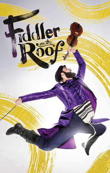 Promotional poster for the Broadway production of Fiddler on the Roof