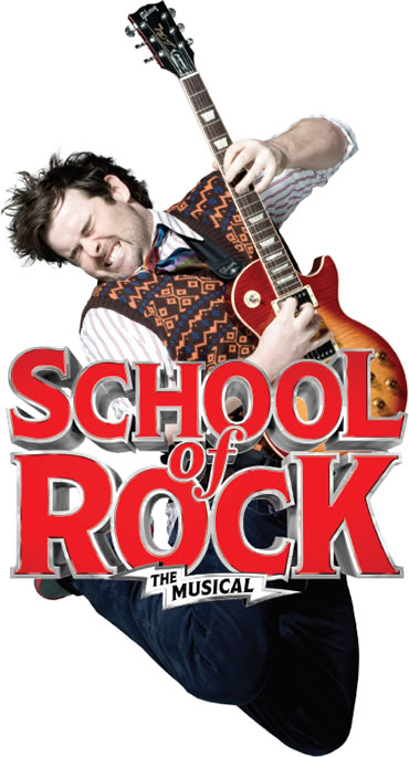 Promotional poster for the Broadway production of School of Rock