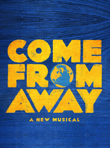 Promotional poster for the Broadway production of Come From Away
