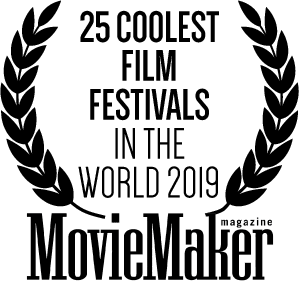 Logo for Movie Maker magazine 25 Coolest Film Festivals
